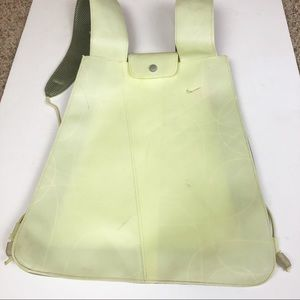 Nike Backpack Jelly Like Material Pale Lime-Yellow